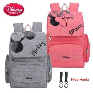 Image 1 - Disney Mummy Diaper Bag Maternity Nappy Nursing Bag for Baby Care Travel Backpack Designer Disney Mickey Minnie Bags Handbag