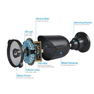 Image 2 - JOOAN 8CH DVR videoregistratore CCTV 4PCS 1080P sicurezza domestica impermeabile visione notturna kit di sorveglianza del sistema di telecamere di sicurezza