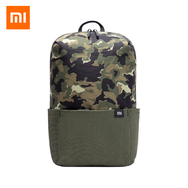 Original New Xiaomi Mi Small Backpack 10L Waterproof Bag For Men Women Starry Sky And Camouflage Color Back Pack Travel Bags