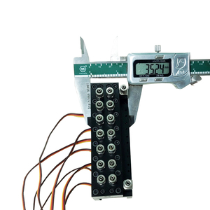 Image 5 - 7CH Directional Valve Hydraulic Oil Valve Controller With Servo for 1/12 RC Excavator Bulldozer Parts