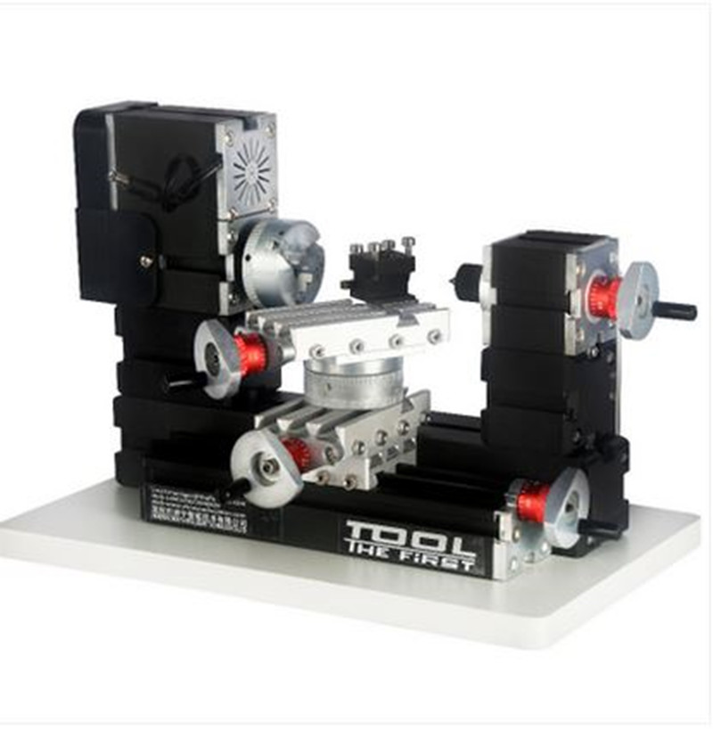TZ20002MR 60W Metal Mini Rotating Lathe/60W,12000rpm Big Power Mini Lathe