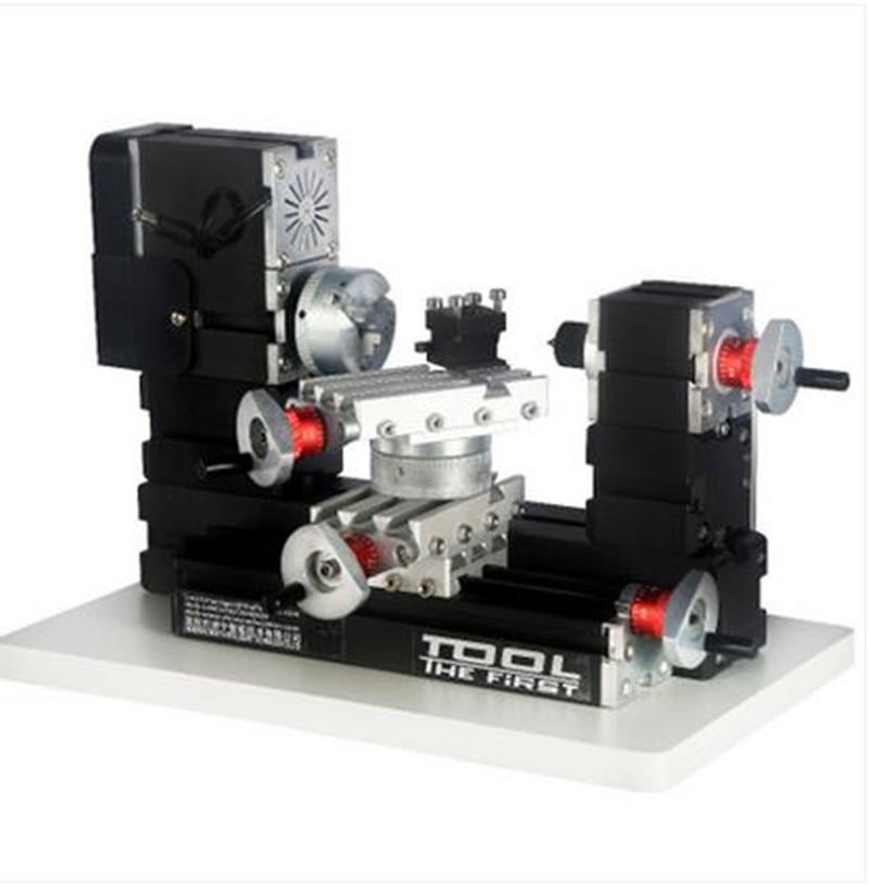 TZ20002MR 60W Metal Mini Rotating Lathe/60W 12000rpm Big Power mini lathe|Lathe| |  - title=
