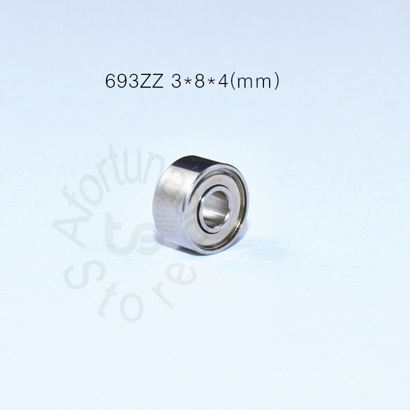 693ZZ 3*8*4(mm) 10pieces Bearing Free Shipping  ABEC-5 Metal Sealed Miniature Mini Bearing 693 693Z 693ZZ Chrome Steel ABEC-5