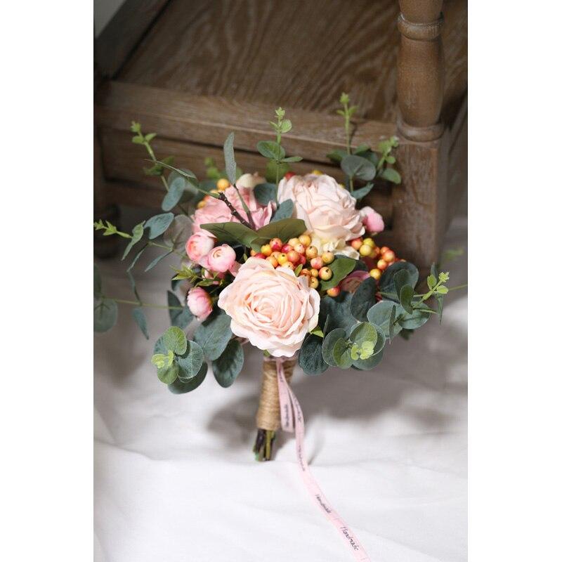 Купить розовые свадебные букеты eye cathing новое поступление 2020
