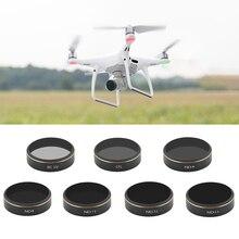 مرشح عدسة للطائرة بدون طيار, مرشح عدسة سهل التركيب لـ DJI Phantom 4 Pro UV CPL ND4 8 16 32 64 مجموعة مرشحات لملحقات كاميرا Phantom 4 P Drone Gimbal