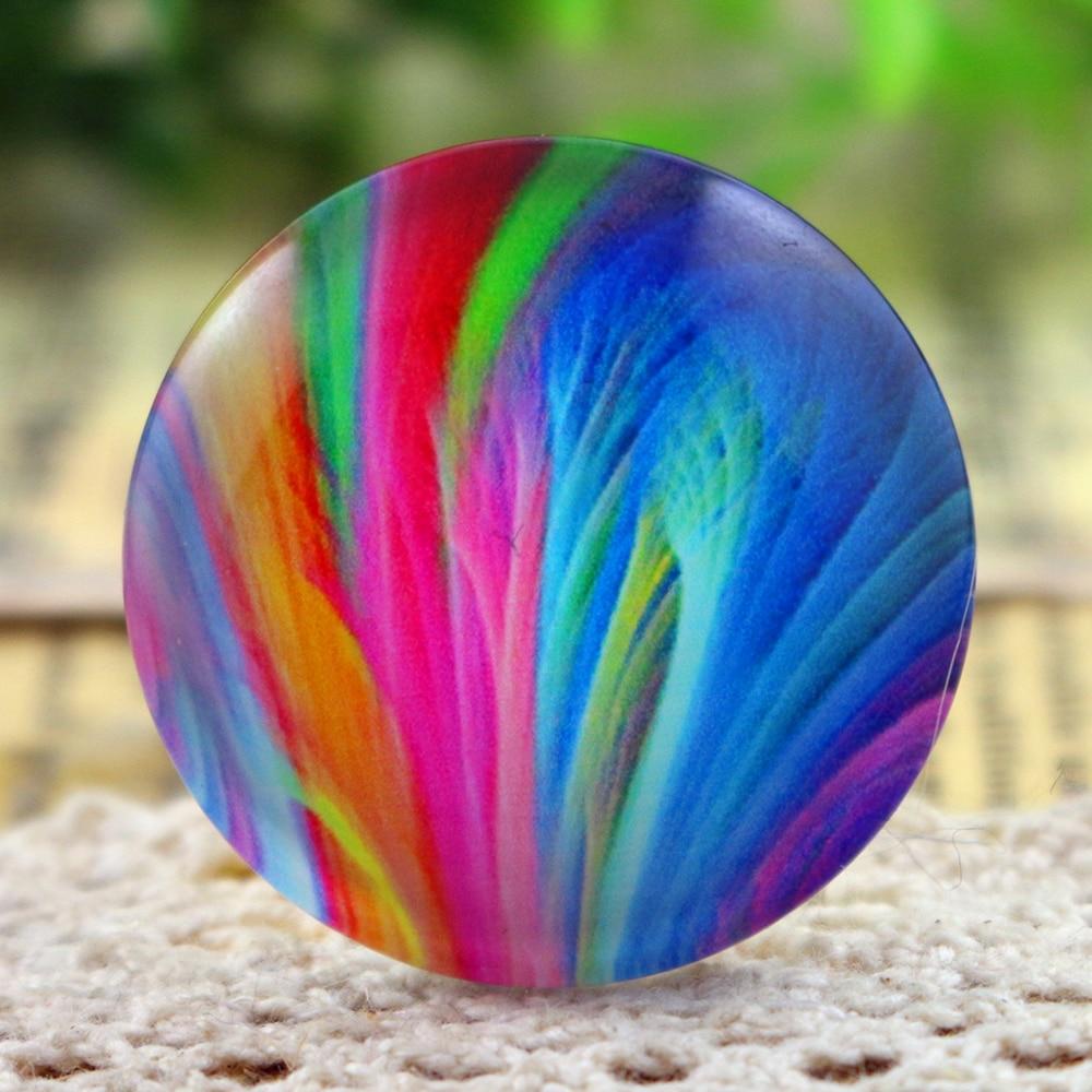 Hot Sale 3pcs 30mm Handmade Photo Glass Cabochons   (I5-10)