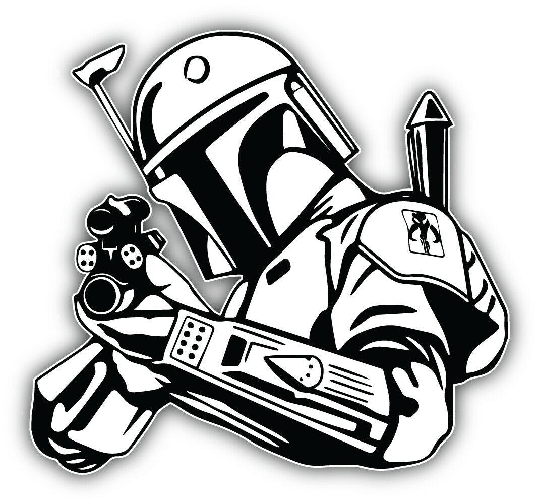 Для звездных войн мультфильм Sith Trooper наклейка бампера Decal-«siнабор»