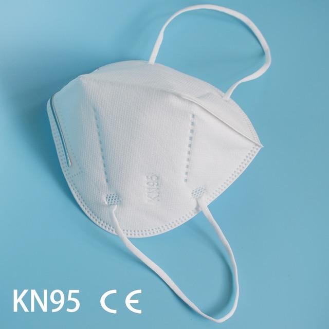 10-200 piece KN95 face mask FFP2 facial masks filter mask Protective maske anti dust mask mouth mask mascarillas tapabocas 2