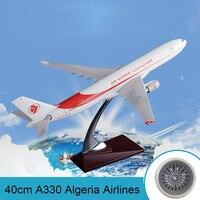 40cm Resin A330 Airbus Model Algeria Airlines Airways Air Algeria International Aviation Aircraft Model Creative Travel Souvenir