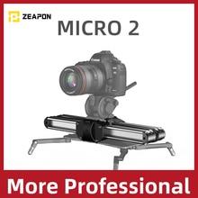 Zeapon Micro 2 Kamera Schiene Slider Aluminium Legierung Leichte, Tragbare Vielseitigen Montage Optionen für DSLR und Spiegellose Kamera