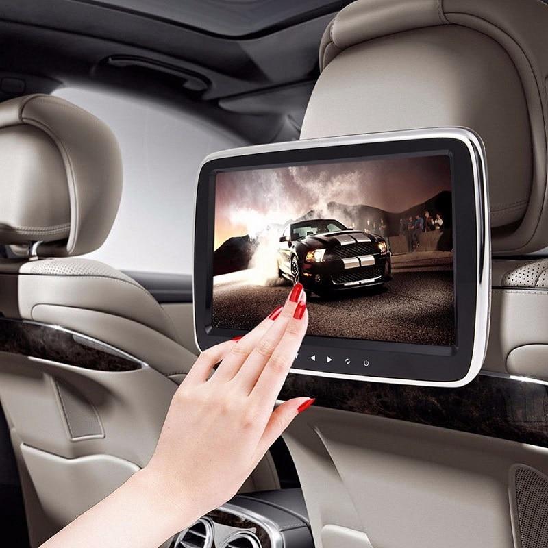 9'' Car Headrest Monitor DVD MP5 Player USB/SD/HDMI/FM/Game Car Digital Screen Audio Video Radio Stereo Remote Control