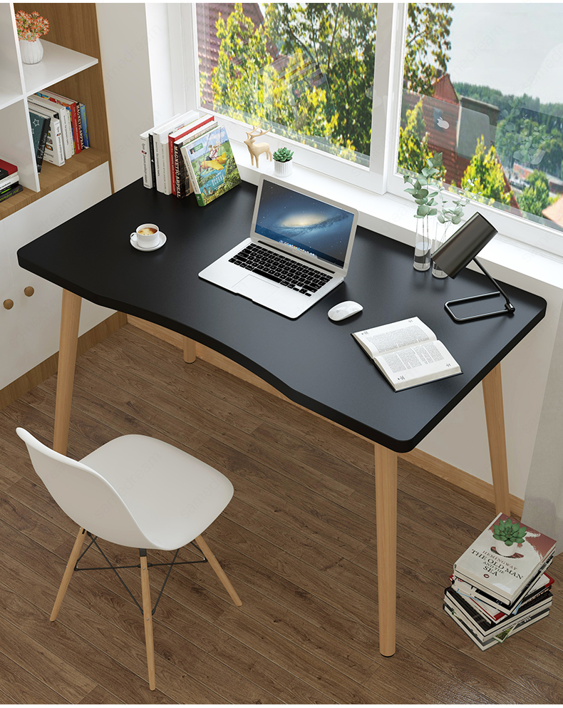 Nordic Study Desk Computer Desk Home Student Desktop Table Modern Bedroom Simple Writing Table Simple Office Small Table
