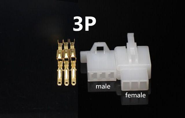 10 zestaw 2.8mm 2/3/4/6/9 pin Automotive 2.8 złącze przewodu elektrycznego męski kabel żeński zestawy wtyczek końcowych motocykl ebike car ok