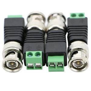 Image 4 - Разъемы BNC для AHD Камеры CVI TVI камеры CCTV камеры коаксиальные/Cat5/Cat6 кабели Бесплатная доставка