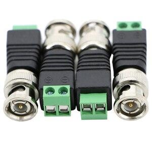 Image 4 - Ücretsiz kargo BNC konnektörleri AHD kamera CVI kamera TVI kamera güvenlik kamerası koaksiyel/Cat5/Cat6 kabloları