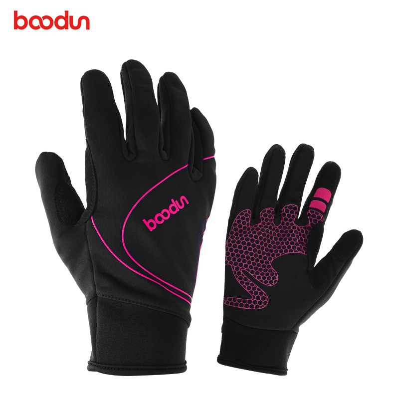 Boodun Large Cycling Bike <font><b>Gloves</b></font> Men And Women Mountaineering Wear-resisting Non-slip <font><b>Glove</b></font> Guantes Mtb Luva Ciclismo <font><b>Fox</b></font> <font><b>Racing</b></font> image