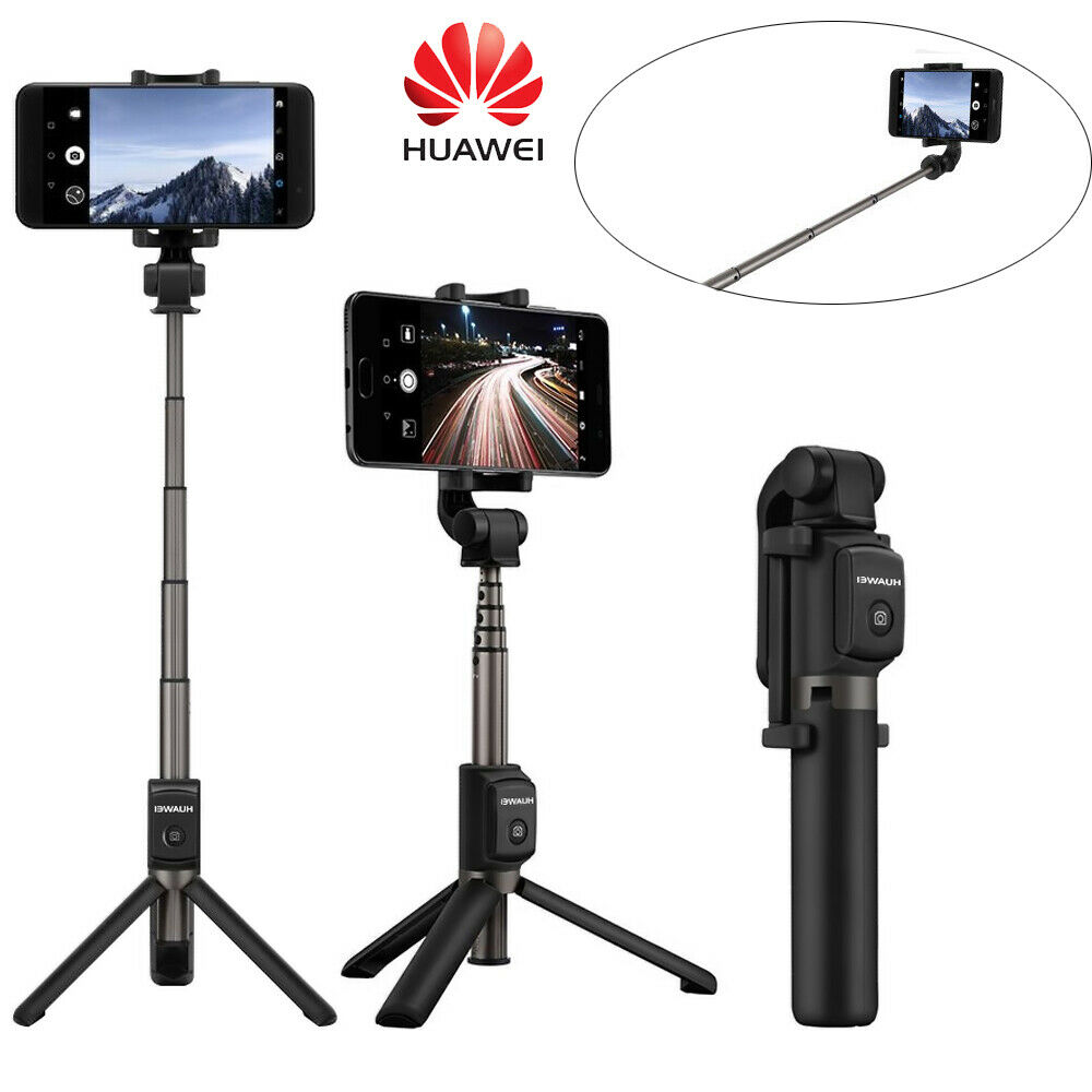 Wireless HUAWEI TRIPOD SELFIE STICK 360 Degree Shooting Angle Bluetooth Remote Tripod Seflie Stick