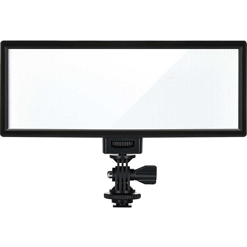 CRI95 5600K/3300K VILTROX L132T Ultra Thin LED Video Light Panel Dimmable Camera Light for DSLR Cameras DV Camcorders without battery