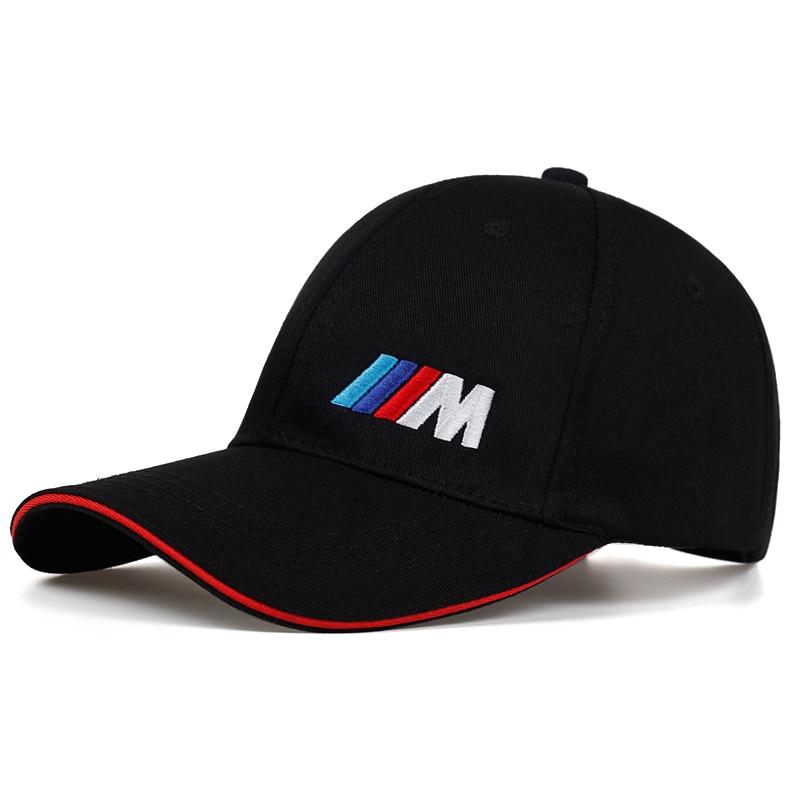 Men Fashion Cotton Car logo M performance   Baseball     Cap   hat for cotton fashion hip hop   cap   hats