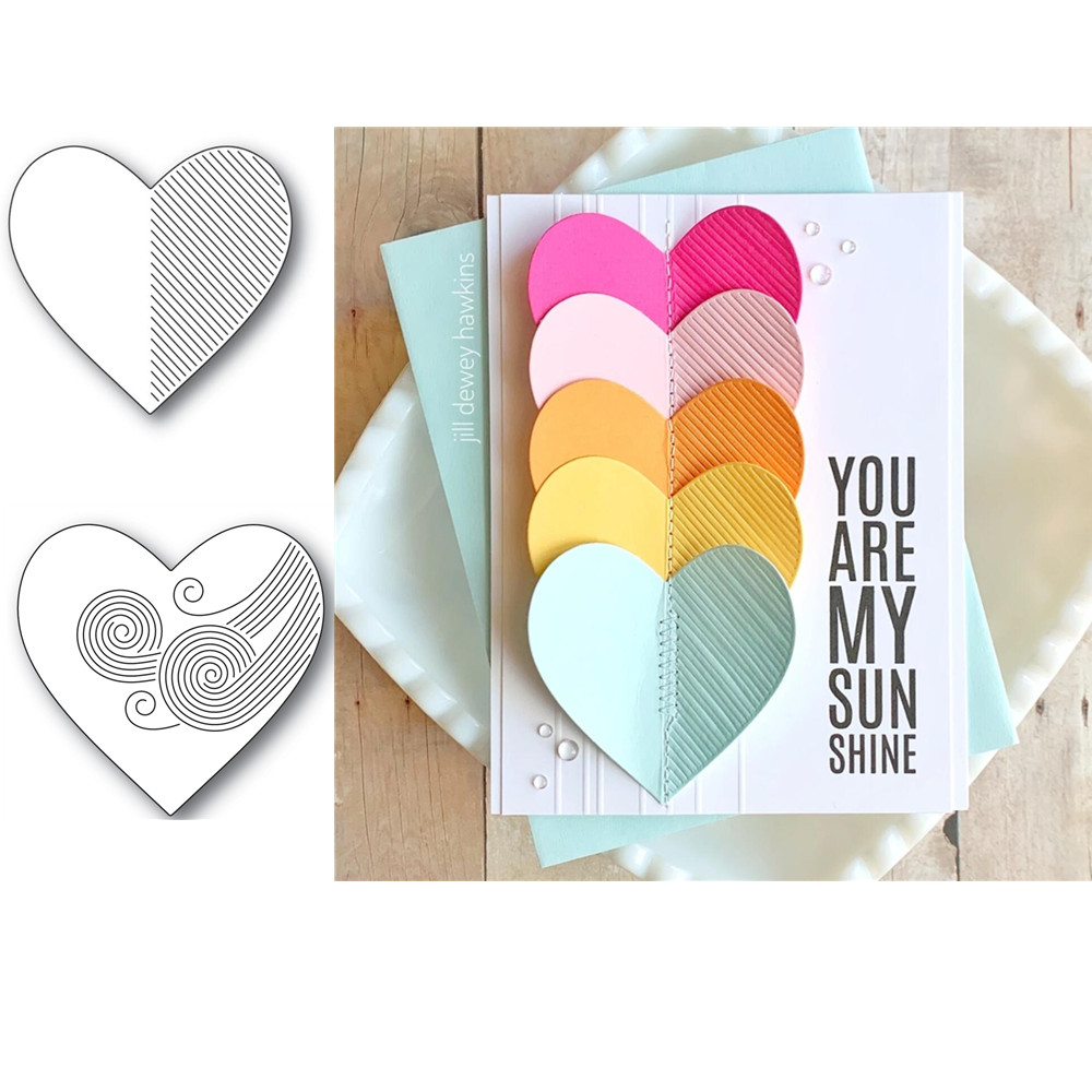 LOVE Cutting Dies For DIY Scrapbooking/photo Album Decorative Embossing DIY Paper Cards A372