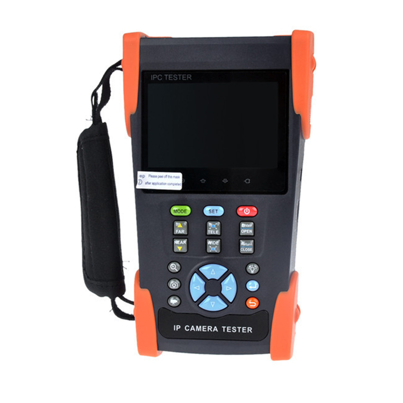3.5 Inch 3 In 1 Ip Camera Tester Cctv Tester Monitor Analog Hd Ahd Ip Camera Testing 1080P Ptz Control Poe Test
