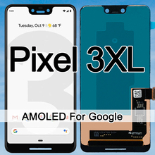 Original Amoled Screen For Google Pixel 3XL LCD Display Touch Digitizer Screen For Google Pixel 3 XL LCD Screen Replacement