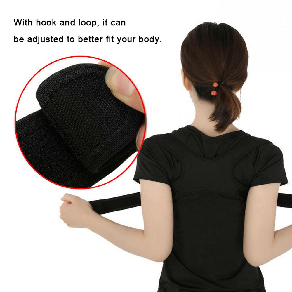 New Upper Back Posture Corrector Posture Clavicle Support Corrector Back Straight Shoulders Brace Strap Correct in Back Support from Sports Entertainment