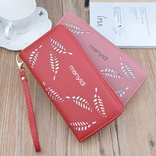 2019 New Wallet Women Long Section Zipper Large Capacity Korean Style Fashion Wallet Mobile Phone Bag Women Clutch Bag Wallet
