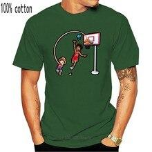 Camiseta Manga - Parodia de Luffy-une pièce-sur le terrain de jeu de balle de panier (dessin animé t-shirt hommes unisexe nouvelle mode t-shirt