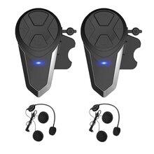 Мотоциклетный шлем Интерком, Bt-S3 1000 м мотоцикл Bluetooth беспроводная гарнитура интерком для 2-3 гонщиков(водонепроницаемый/громкой связи/Стере