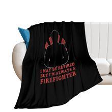 Firefighter Blanket Summer Soft Blanket Cheap Beautiful Fleece Bedspread
