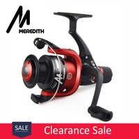Meredith CB40 wysoce opłacalna dla początkujących przynęta Fisher 1BB stosunek 5.2: 1 tanie plastikowa szpula Spinning Fishing Reel