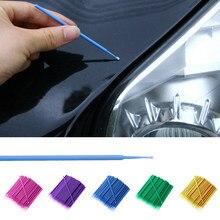 100pcs Pintura Touch-up Pintura Escovas Descartáveis Odontologia Pequena Caneta de Ponta Ferramentas De Manutenção do Auto Aplicador Vara Pintura Do Carro reparação