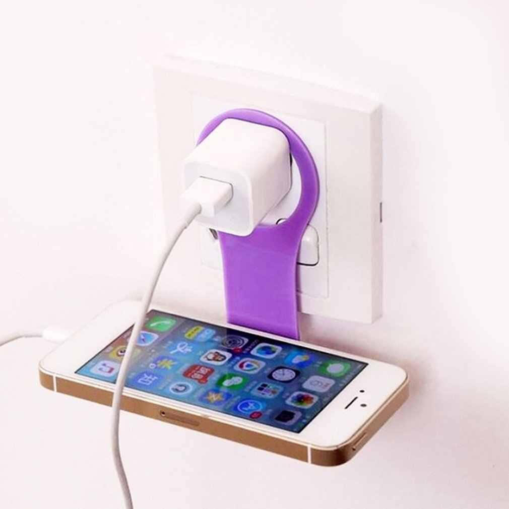 נייד רב תכליתי נייד טלפון קיר מחזיק מתקפל שולחן Stand מחזיק אוניברסלי טלפון טעינת Stand עבור טלפונים חכמים