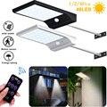 48 Светодиодный светильник на солнечной батарее 3 режима Открытый водонепроницаемый Солнечный настенный светильник дистанционное управлен...