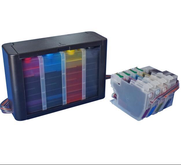 LC3217 LC3219 LC 3217 3219 XL CISS For BROTHER MFC-J5330DW MFC  J5335DW J5730DW J5930DW J6530DW J6935DW Inkjet Printer With Chip
