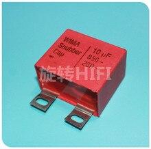 2PCS אדום WIMA snubber mkp 10UF 850V מקורי חדש SNUBBER MKP 106/850V אודיו 106 מכירה לוהטת 10 UF/850 V 280vac