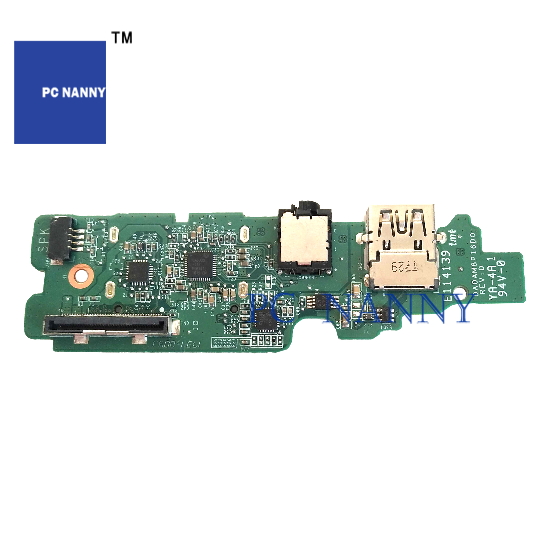PCNANNY FOR <font><b>DELL</b></font> <font><b>5459</b></font> V5459 USB audio board 09XH8W LED Media Power Button Board 0K54K5 WebCam 0WHVND test good image