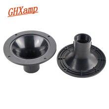 GHXAMP Hochtöner Horn Runde Höhen Mund Schraube Horn Interface Professional Lautsprecher ABS kunststoff Horn Adapter Platte 2 stücke