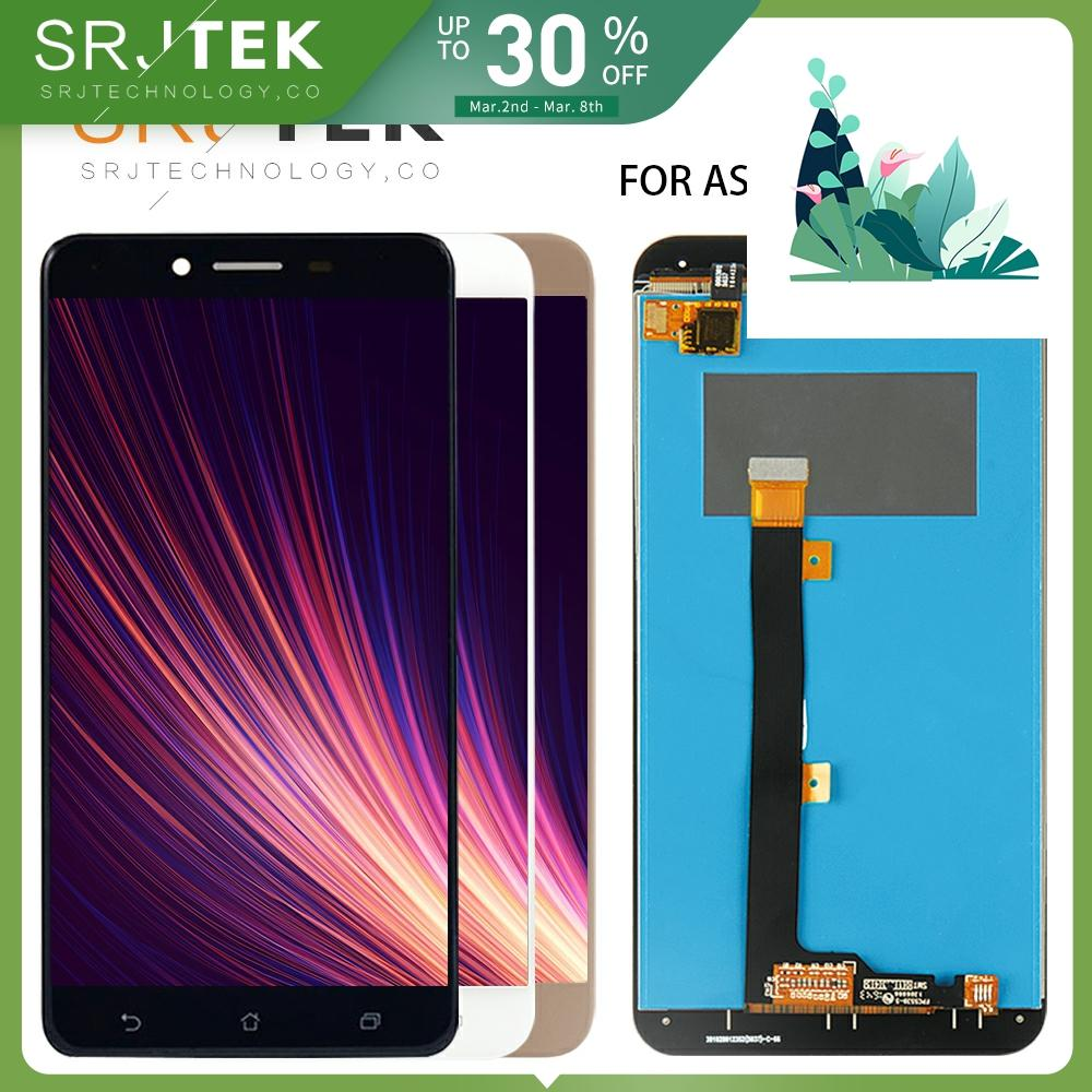 SRJTEK LCD <font><b>ZC553KL</b></font> For <font><b>Asus</b></font> Zenfone 3 Max <font><b>ZC553KL</b></font> LCD Display <font><b>Touch</b></font> <font><b>Screen</b></font> Digitizer Replacement Display Assembly with Frame image