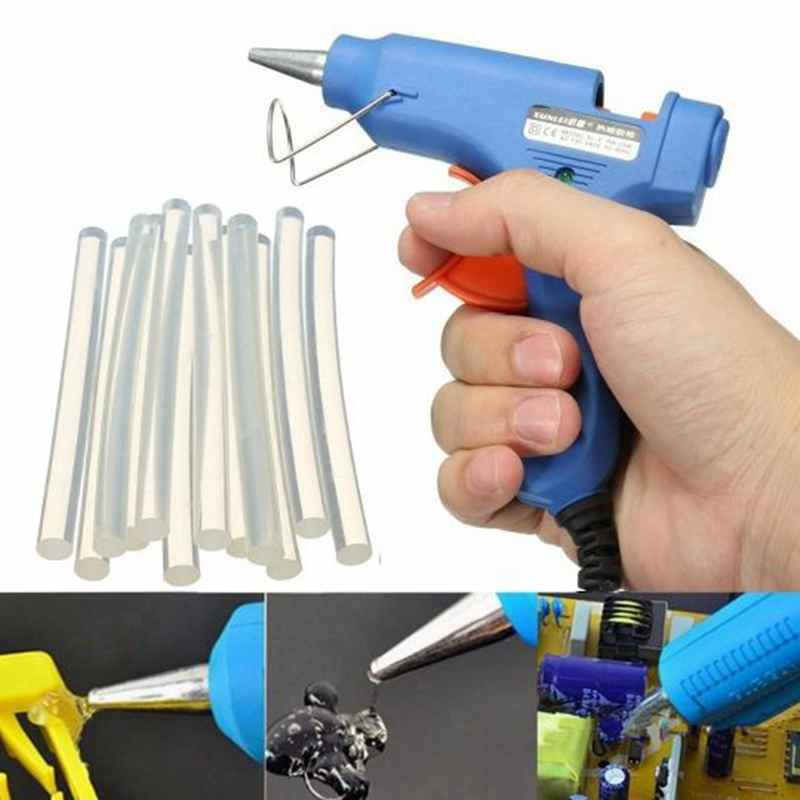1/100pcs Hot Melt Glue Stick Rod 7mm For Glue Gun Adhesive Sticks For DIY Art Craft Hand Repair Tool