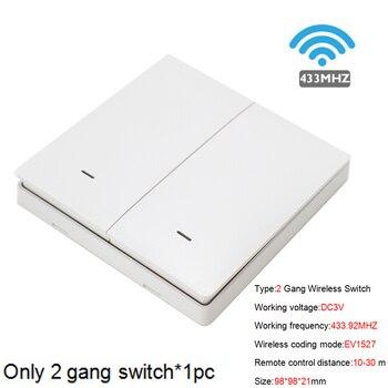 Smart Life APP WiFi RF DIY Switch Wifi Smart Breaker Switch Wireless Controller Light RF 433Mhz Wall DIY Relay Timer Tuya 17
