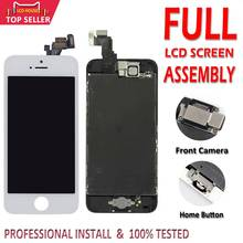 Conjunto completo display lcd para iphone 5 5c 5S 6 s 7 8 mais tela lcd 3d toque digitador assembléia substituição para iphone 6 p 6sp 7 p 8 p