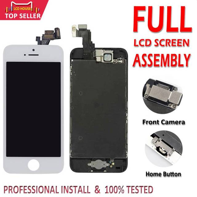 Full Set LCD Display for iPhone 5 5C 5S 6 6S 7 8 Plus LCD Screen 3D Touch Digitizer Assembly Replacement For iPhone 6P 6SP 7P 8P