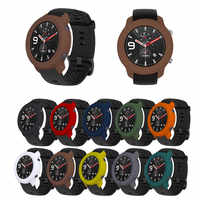 Soft Full Case Cover Shell for Huami AMAZFIT GTR 42mm 47mm Silicone Frame Protective smart watch Accessories