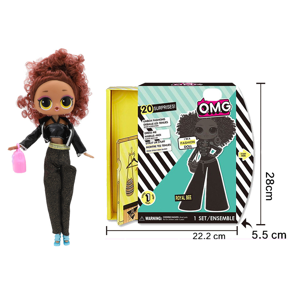 L O L Surprise O M G Swag Fashion Doll With 20 Surprises Girl Toy Gift Fashion Big Surprise Baby Sister Style Model Toys Dolls Aliexpress
