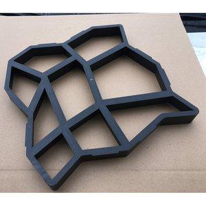 Форма для самостоятельного изготовления пластиковых тротуарных плит, цемента, кирпича, бетона, форма для сада, каменной дороги, украшение д...
