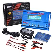 iMAX B6 80W 6A Battery Balance Charger Lipo NiMh Li-ion Ni-Cd Digital RC Balance Charger Discharger Microprocessor Data storage цена в Москве и Питере