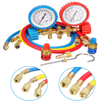 Portable Repair Tools Manifold Gauges Set Air Conditioning Household Lightweight Test Diagnostic Refrigeration 2 Way Car