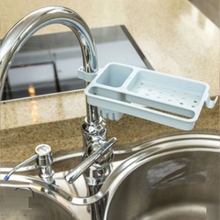 Faucet li shui buy content wears cistern to receive a kitchen things sink sponge dishcloth li shui wears(China)